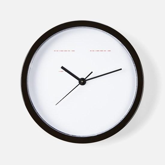 Math Humor Wall Clock