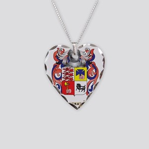 McGrath Coat of Arms - Family Necklace Heart Charm
