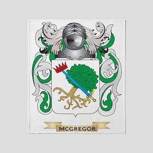 McGregor Coat of Arms - Family Crest Throw Blanket