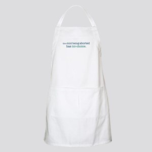 The Child Has No-Choice BBQ Apron