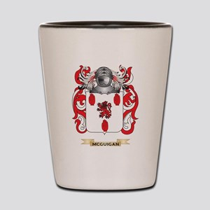 McGuigan Coat of Arms - Family Crest Shot Glass