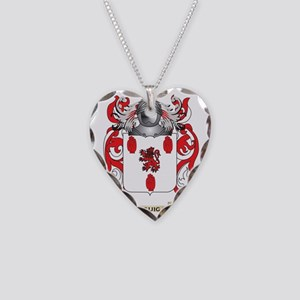 McGuigan Coat of Arms - Famil Necklace Heart Charm