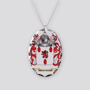 McGuigan Coat of Arms - Family Necklace Oval Charm