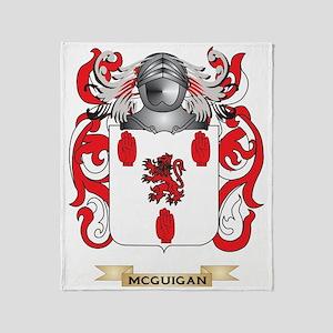 Family crest gifts cafepress mcguigan coat of arms family crest throw blanket altavistaventures Gallery