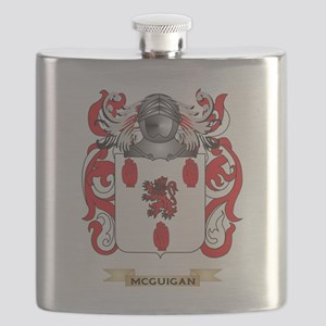 McGuigan Coat of Arms - Family Crest Flask