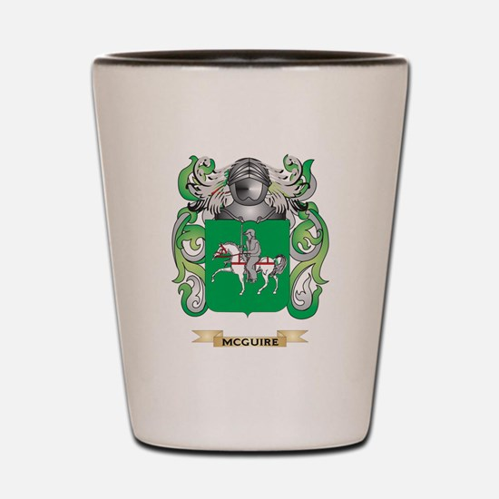 McGuire Coat of Arms - Family Crest Shot Glass
