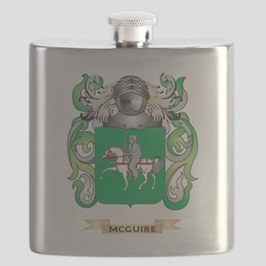 McGuire Coat of Arms - Family Crest Flask