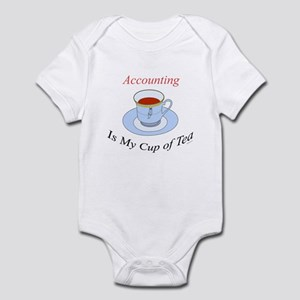 Accounting is my cup of tea Infant Creeper