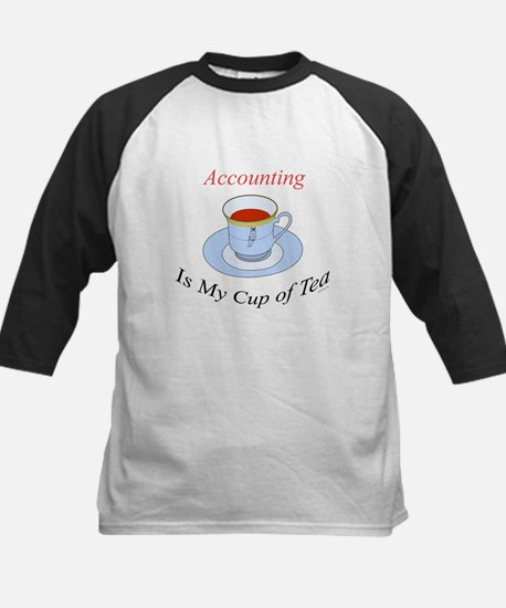 Accounting is my cup of tea Kids Baseball Jersey