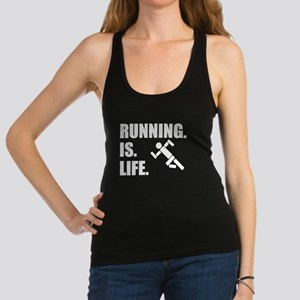 Running Is Life Racerback Tank Top