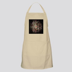 Indian Diamond and Ruby Apron