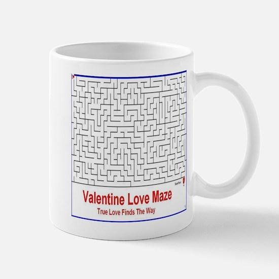 Valentine Love Maze Mugs