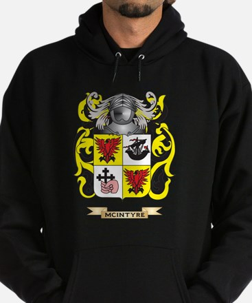 McIntyre Coat of Arms - Family Crest Hoodie (dark)