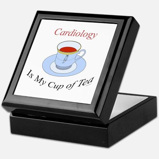 Cardiology is my cup of tea Keepsake Box