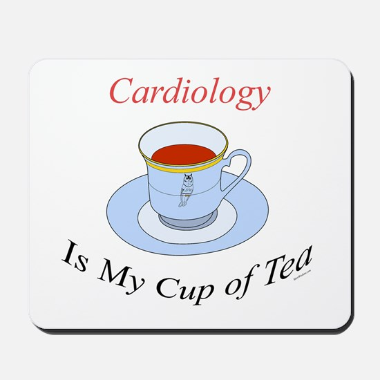 Cardiology is my cup of tea Mousepad