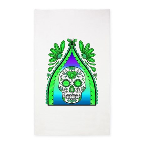 Best Seller Sugar Skull Area Rug