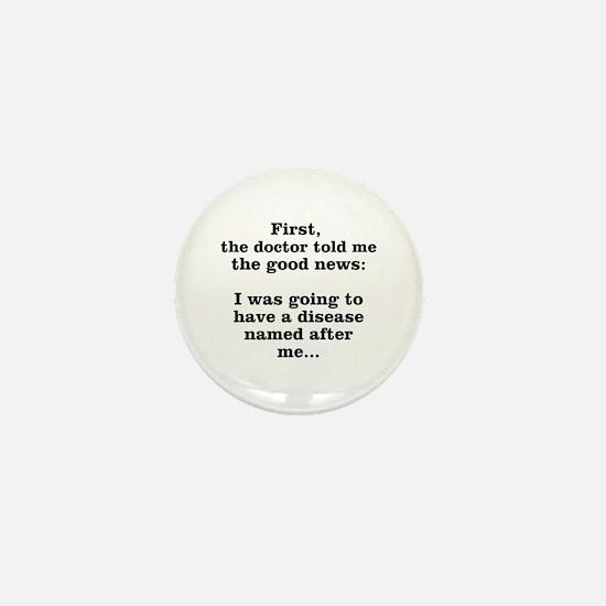 The Good News Mini Button