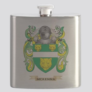 McKenna Coat of Arms - Family Crest Flask