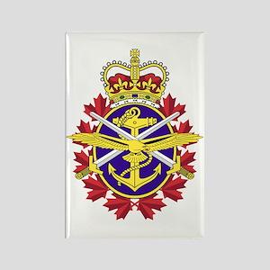 Canadian Forces Logo Rectangle Magnet