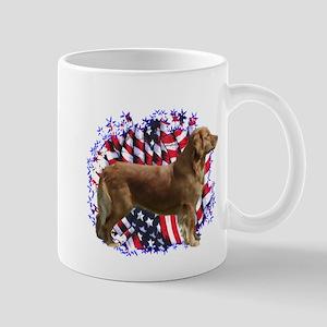Golden Patriotic Mug