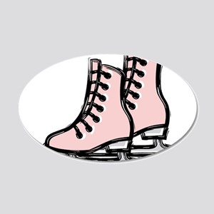 Ice Skate Wall Decal