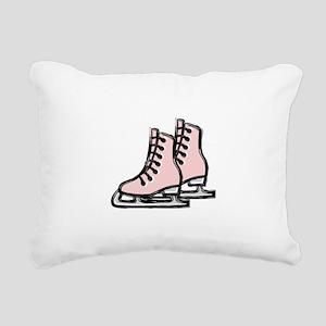 Ice Skate Rectangular Canvas Pillow