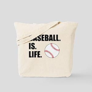 Baseball Is Life Tote Bag