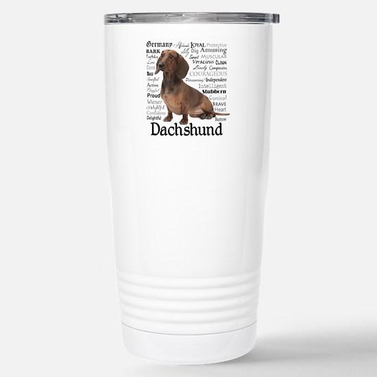 Dachshund Traits Travel Mug