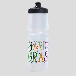 MARDI GRAS Sports Bottle