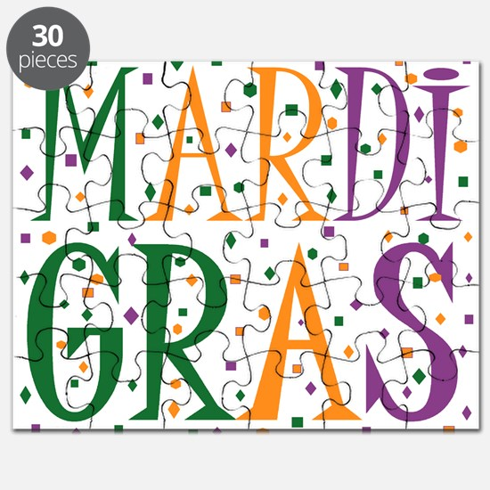MARDI GRAS Puzzle
