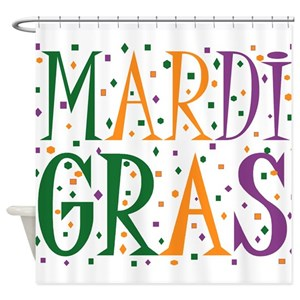 New Orleans Mardi Gras Shower Curtains