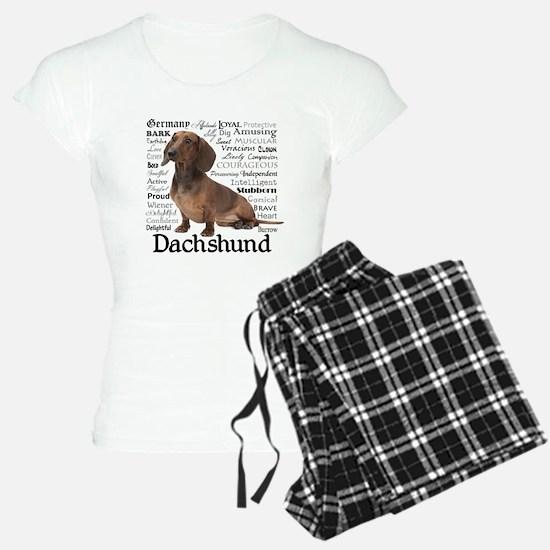 Dachshund Traits Pajamas
