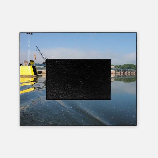 Lock  Dam 13 Picture Frame