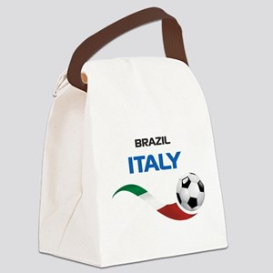 Soccer 2014 ITALY Canvas Lunch Bag