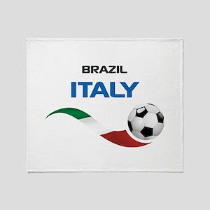 Soccer 2014 ITALY Throw Blanket