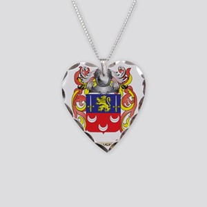 McLaughlin Coat of Arms - Fam Necklace Heart Charm