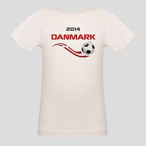 Soccer 2014 DANMARK Organic Baby T-Shirt