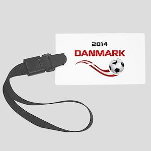 Soccer 2014 DANMARK Large Luggage Tag
