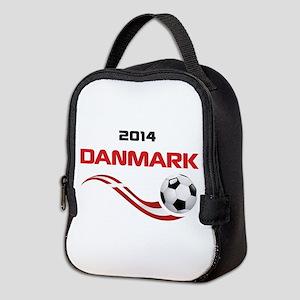 Soccer 2014 DANMARK Neoprene Lunch Bag
