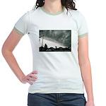 Hurricane Charley 2004 Jr. Ringer T-Shirt