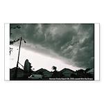 Hurricane Charley 2004 Rectangle Sticker