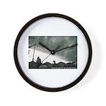 Hurricane Charley 2004 Wall Clock