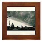 Hurricane Charley 2004 Framed Tile