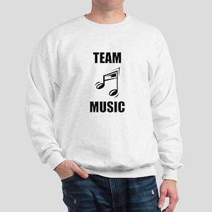 Team Music Sweatshirt