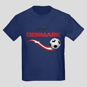 Soccer 2014 DENMARK Kids Dark T-Shirt