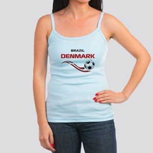 Soccer 2014 DENMARK Jr. Spaghetti Tank