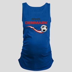 Soccer 2014 DENMARK Maternity Tank Top