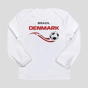 Soccer 2014 DENMARK Long Sleeve Infant T-Shirt