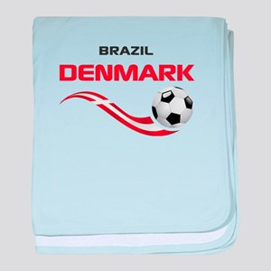 Soccer 2014 DENMARK baby blanket