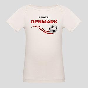 Soccer 2014 DENMARK Organic Baby T-Shirt
